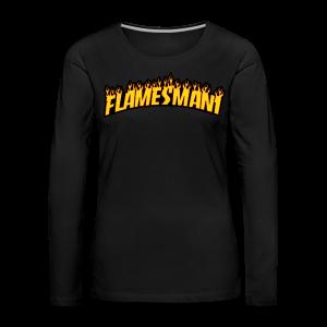 Flasher (Trasher Style) (børne størrelse) - Dame premium T-shirt med lange ærmer