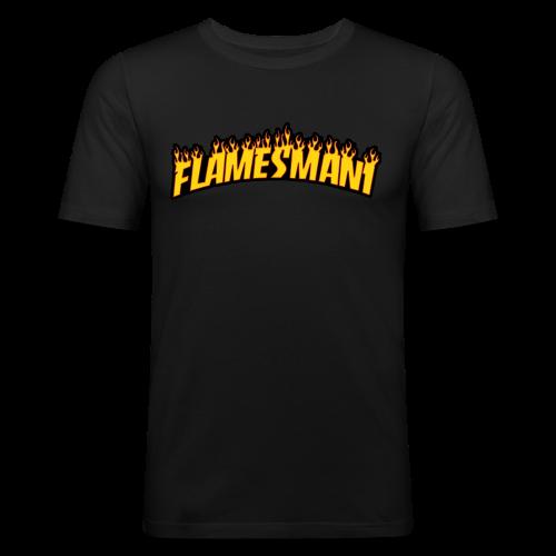 Flasher (Trasher Style) (børne størrelse) - Herre Slim Fit T-Shirt