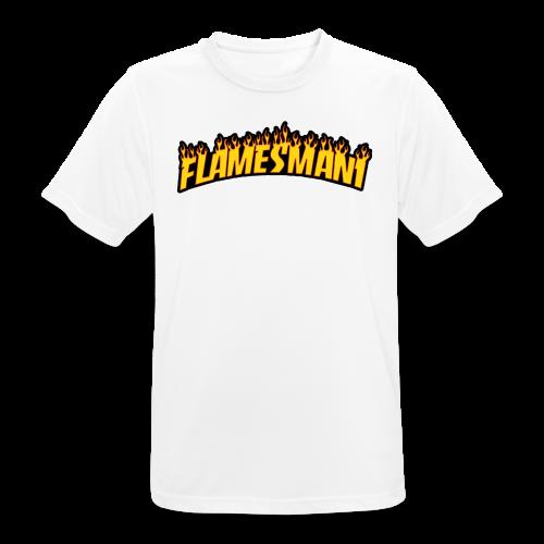 Flasher (Trasher Style) (børne størrelse) - Herre T-shirt svedtransporterende