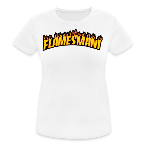 Flasher (Trasher Style) (børne størrelse) - Dame T-shirt svedtransporterende