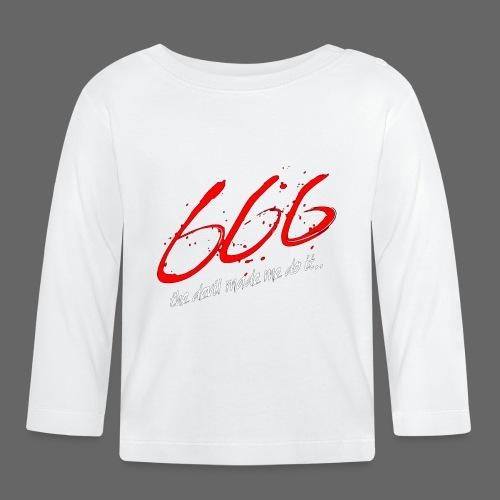 The Devil Made Me Do It - Langærmet babyshirt