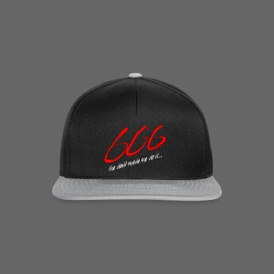 The Devil Made Me Do It - Snapback Cap