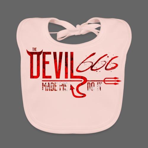 The Devil Shirt - Baby økologisk hagesmæk