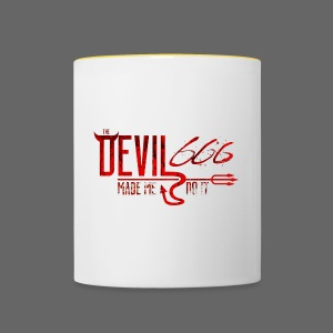 The Devil Shirt - Tofarvet krus