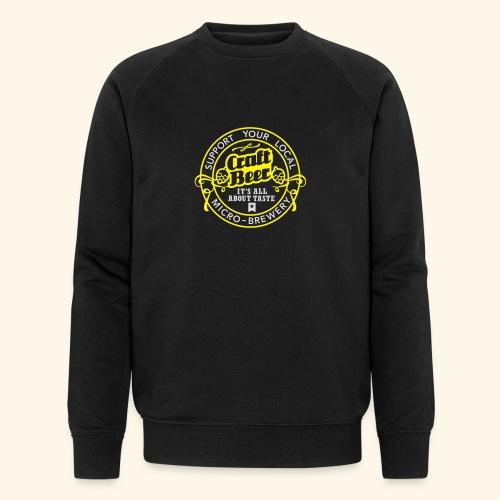 Craft Beer - Männer Bio-Sweatshirt von Stanley & Stella