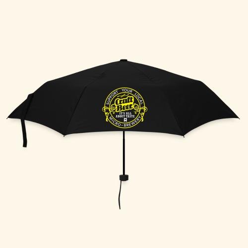 Craft Beer - Regenschirm (klein)