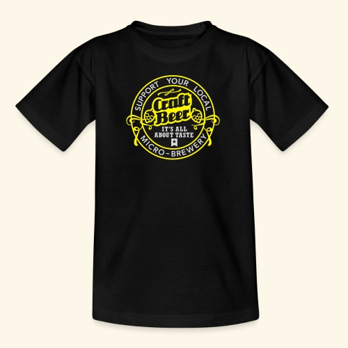 Craft Beer - Teenager T-Shirt