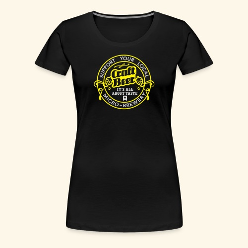 Craft Beer - Frauen Premium T-Shirt