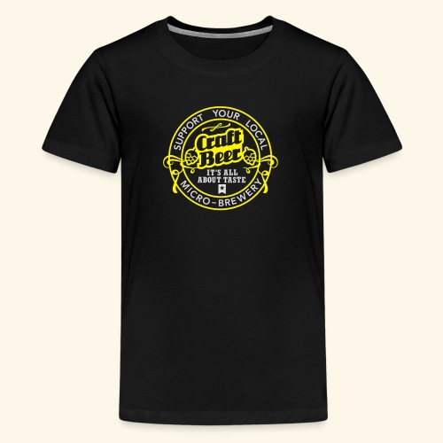 Craft Beer - Teenager Premium T-Shirt