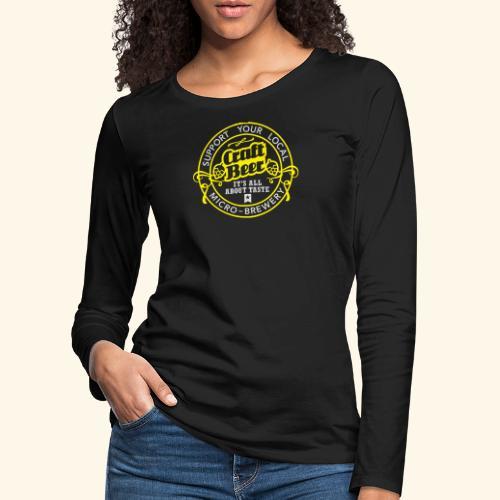 Craft Beer - Frauen Premium Langarmshirt