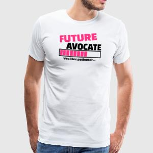 future avocate Tabliers - T-shirt Premium Homme