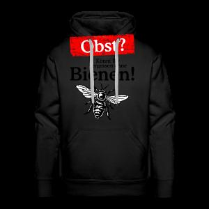 Kein Obst ohne Bienen T-Shirt - Männer Premium Hoodie