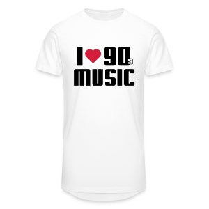 I Love 90s Music Shirt - Männer Urban Longshirt