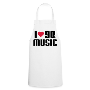 I Love 90s Music Shirt - Kochschürze