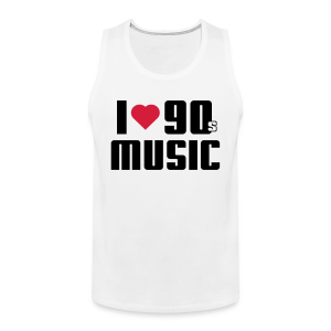 I Love 90s Music Shirt - Männer Premium Tank Top