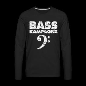 Basskampagne Bass Design Vintage Weiß