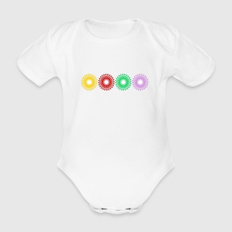 Chakra Bodys Bébés - Body bébé bio manches courtes