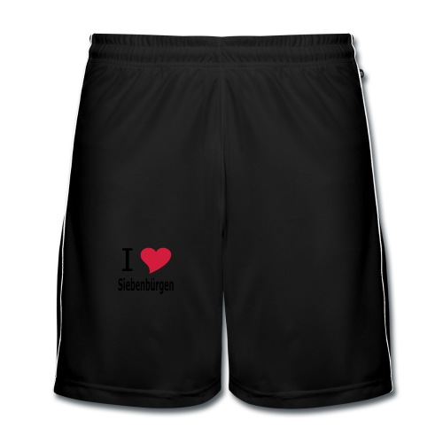 T-Shirt I love Siebenbürgen - Männer Fußball-Shorts