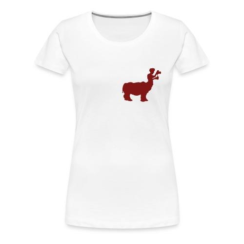 Rhinotaure - T-shirt Premium Femme