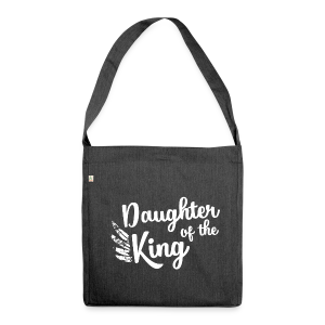 Daughter of the King - Schultertasche aus Recycling-Material