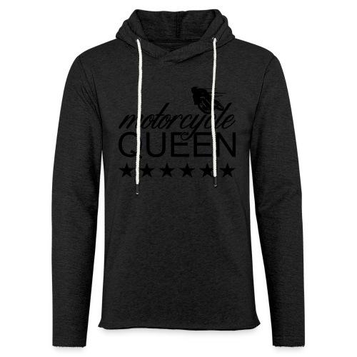Moto Queen - Leichtes Kapuzensweatshirt Unisex