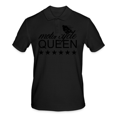 Moto Queen - Männer Poloshirt