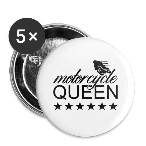Moto Queen - Buttons klein 25 mm