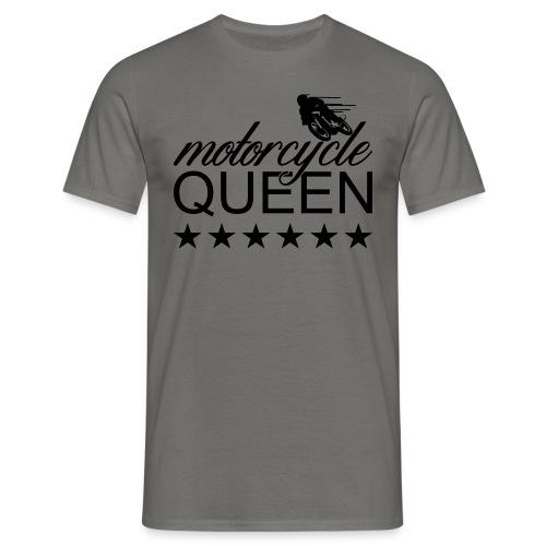 Moto Queen - Männer T-Shirt