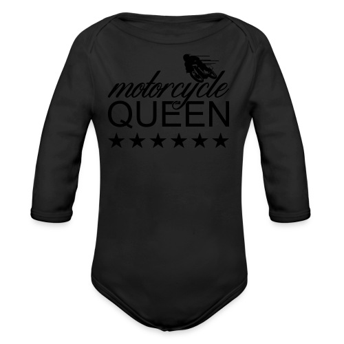 Moto Queen - Baby Bio-Langarm-Body