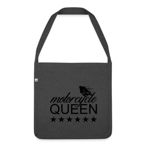 Moto Queen - Schultertasche aus Recycling-Material