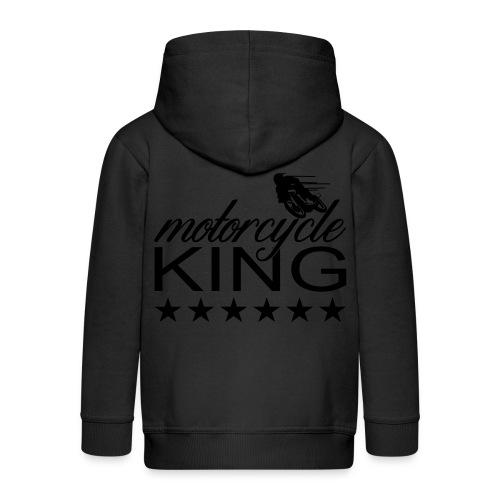 Moto King - Kinder Premium Kapuzenjacke
