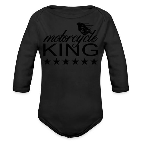 Moto King - Baby Bio-Langarm-Body