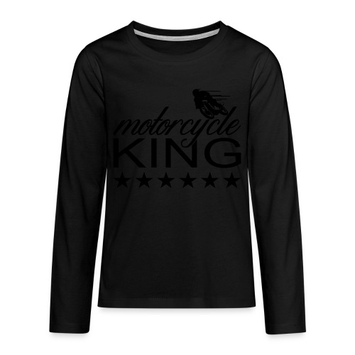 Moto King - Teenager Premium Langarmshirt