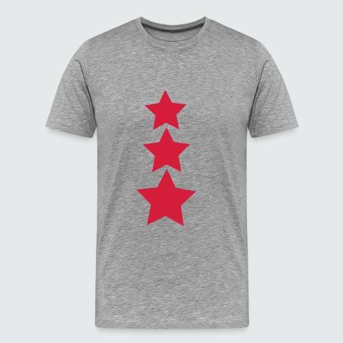 M-134-schwarz-neonpink - Männer Premium T-Shirt