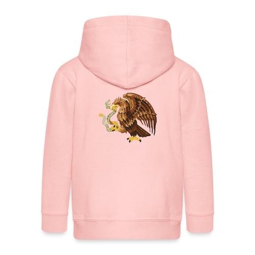 Housse de coussin Aigle et ver - Veste à capuche Premium Enfant