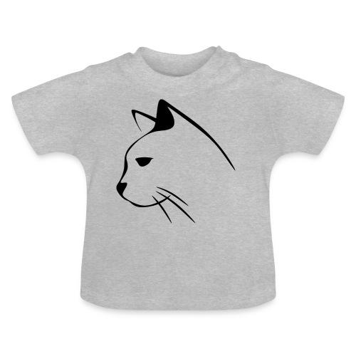 Housse de coussin Tête de Chat - T-shirt Bébé