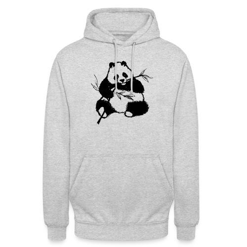 Housse de coussin Panda géant - Sweat-shirt à capuche unisexe