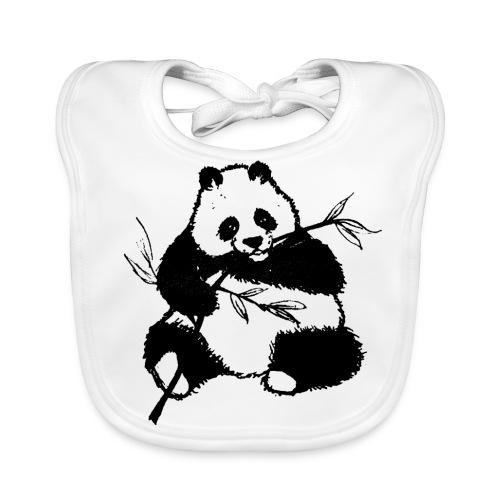 Housse de coussin Panda géant - Bavoir bio Bébé