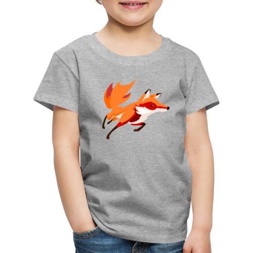 Housse de coussin Renard - T-shirt Premium Enfant