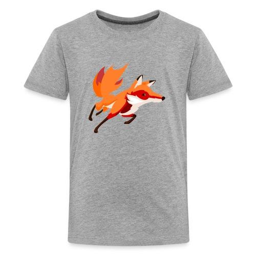 Housse de coussin Renard - T-shirt Premium Ado