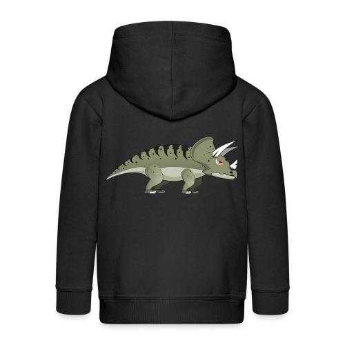 Housse de coussin Dinosaure - Veste à capuche Premium Enfant
