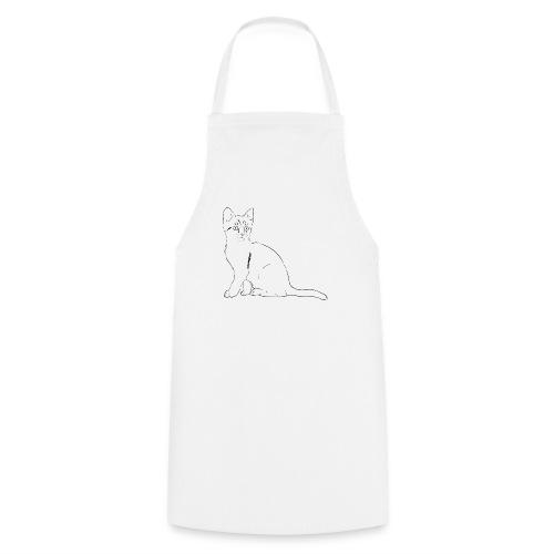 Housse de coussin Chat dessin - Tablier de cuisine