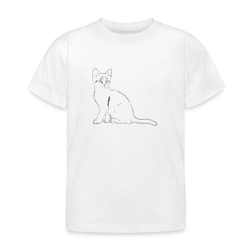 Housse de coussin Chat dessin - T-shirt Enfant