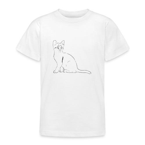 Housse de coussin Chat dessin - T-shirt Ado