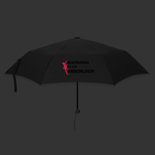 Gravitation Arschloch - Regenschirm (klein)
