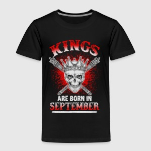 September - King - birthday - 3 - EN Long Sleeve Shirts - Kids' Premium T-Shirt