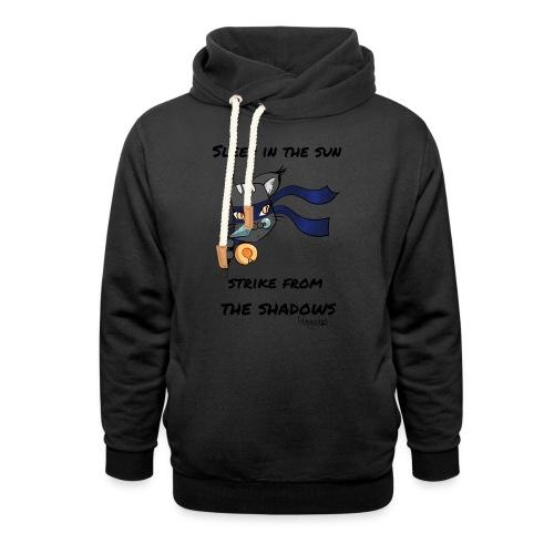 Women's T-Shirt: Ninja cat - Shawl Collar Hoodie