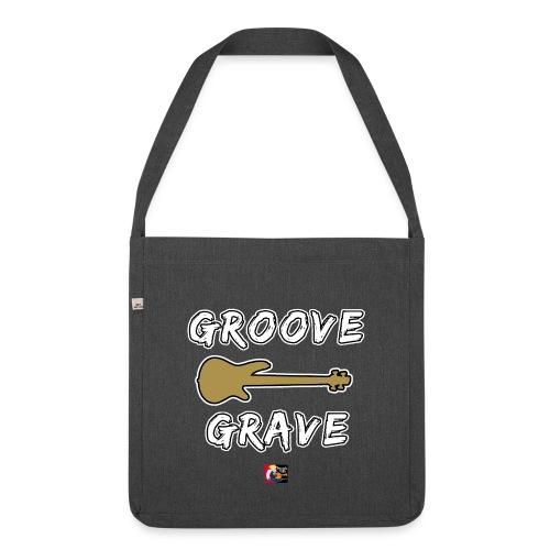 GROOVE GRAVE - JEUX DE MOTS - FRANCOIS VILLE - Sac bandoulière 100 % recyclé