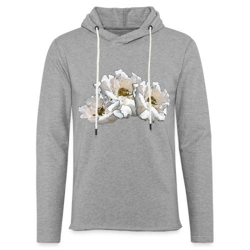 Drei Rosen Collage - Leichtes Kapuzensweatshirt Unisex
