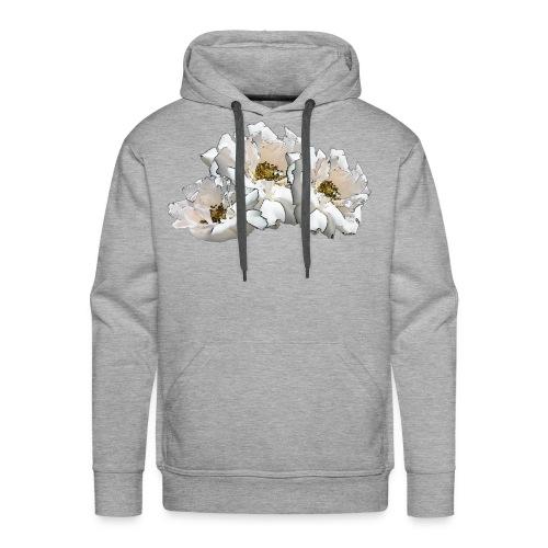 Drei Rosen Collage - Männer Premium Hoodie